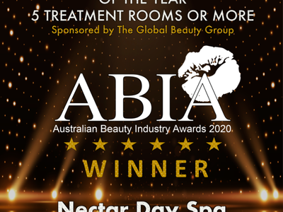 WINNER - 2020 Spa of the Year