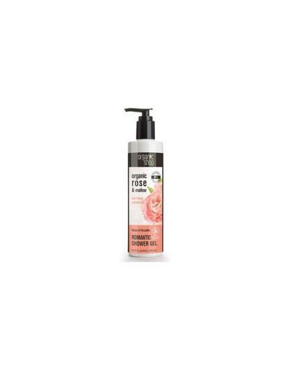 Organic Rose & Mallow Shower Gel