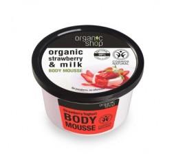 Organic Strawberry Milk Yoghurt Body Mousse