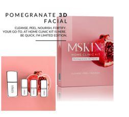 Pomegranate 3D Facial Kit